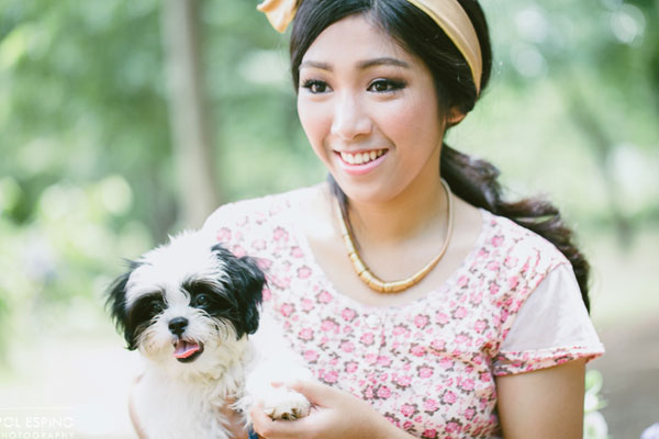 Aurea turns 18 – Ninoy Aquino Parks and Wildlife Photoshoot Pre-Debut – Whimsical Theme